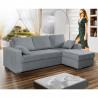 Corner sofa bed Amelia with storage and sleeping function 230cm 7'6''