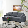 Corner sofa bed Asti with storage and sleeping function 236cm 7'8''