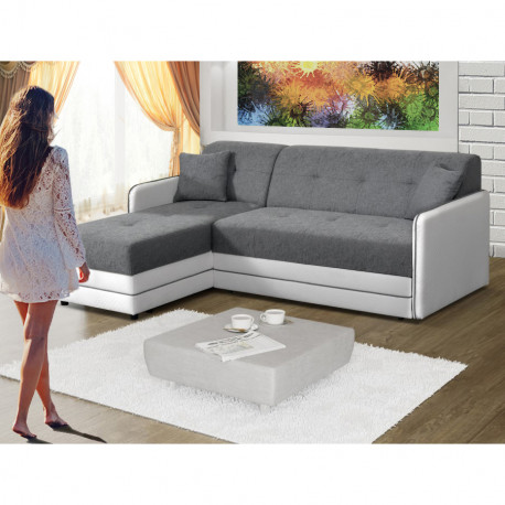 Corner sofa bed Artim R with storage and sleeping function 200cm 6\'6\'\' -  Alter GM