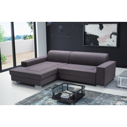 Corner sofa bed Avola K with a storage and sleeping function 260cm 8'6''