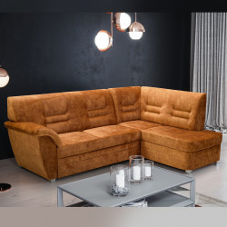 Corner sofa bed Amman K with a storage and sleeping function 257cm 8'5''
