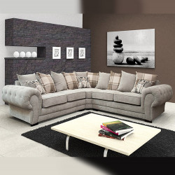 Elegant Corner Sofa Viva