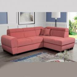 Corner sofa bed Nola 2 R, storage and sleeping function optional, 273cm / 8'11''