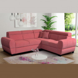 Corner sofa bed Nola 3 R, storage and sleeping function optional, 272cm / 8'11''
