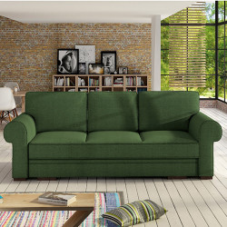 Sofa bed Baltic with storage and sleeping function 256cm 8'4''