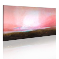 Handmade painting  Distant horizon