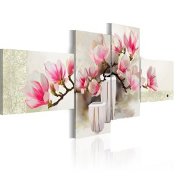 Handmade painting  Fragrance of magnolias