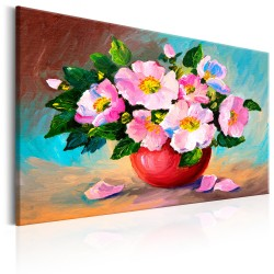 Handmade painting  Spring Bunch