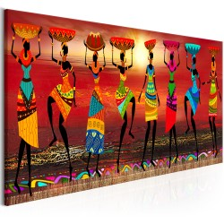 Canvas Print  African Women Dancing