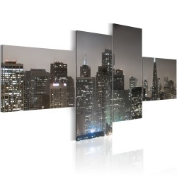 Canvas Print  San Francisco by night