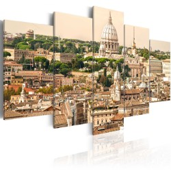 Canvas Print  The roofs of the Eternal City