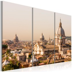 Canvas Print  Above the roofs of The Eternal City