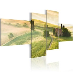 Canvas Print  The tranquillity of Tuscany