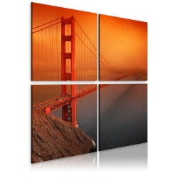 Canvas Print  San Francisco  Golden Gate Bridge