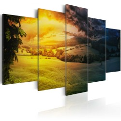 Canvas Print  Between night and day