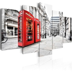 Canvas Print  Street of London