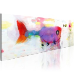 Canvas Print  Deepsea fishes