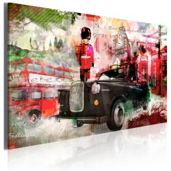 Canvas Print  Memories from London