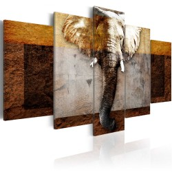 Canvas Print  Strength of Africa