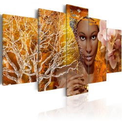 Canvas Print  Tales from Africa