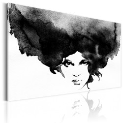 Canvas Print  Storm of Thoughts
