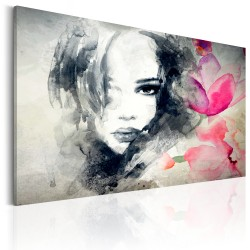 Canvas Print  Mysterious Look