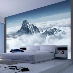 Wallpaper  Mountain in the clouds