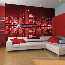 Wallpaper  Winecolored Chicago
