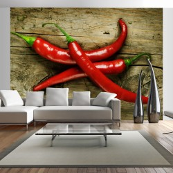 Wallpaper  Spicy chili peppers