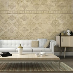Wallpaper  Faded baroque wallpaper
