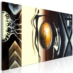 Canvas Print  Conversation (1 Part) Narrow