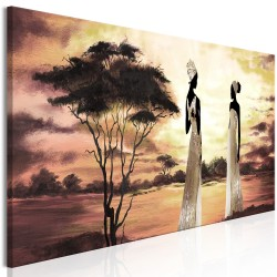 Canvas Print  African Goddesses (1 Part) Narrow