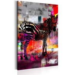 Canvas Print  Code of Modernity