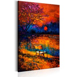 Canvas Print  Colours of Autumn