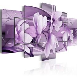 Canvas Print  Purple Wave