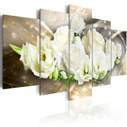 Canvas Print  The Light of Rose