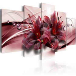 Canvas Print  Pink Lily