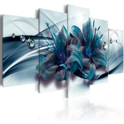 Canvas Print  Blue Lily