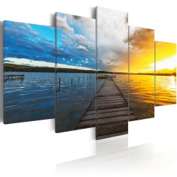 Canvas Print  Lake of Dreams