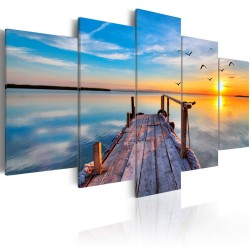Canvas Print  Lake of Memories