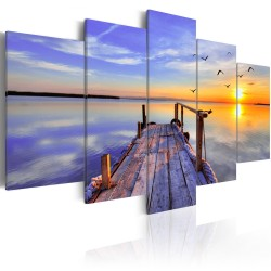 Canvas Print  Summer Harbor