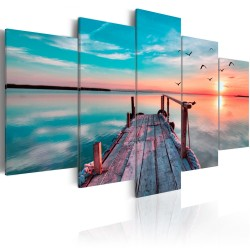 Canvas Print  Forgotten Marina