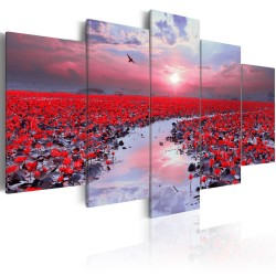 Canvas Print  The River of Love