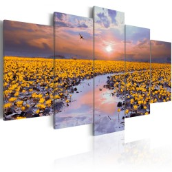 Canvas Print  The River of Light