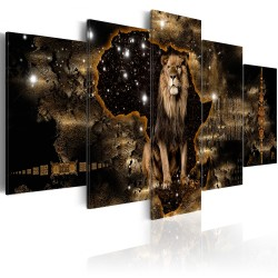 Canvas Print  Golden Lion