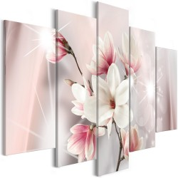 Canvas Print  Dazzling Magnolias (5 Parts) Wide