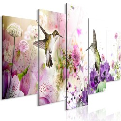Canvas Print  Colourful Nature (5 Parts) Wide
