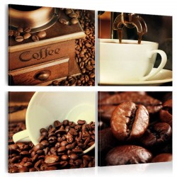Canvas Print  Coffee Tasting