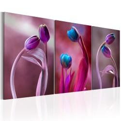 Canvas Print  Tulips in Love