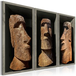 Canvas Print  Moai (Easter Island)